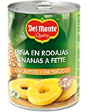Del Monte Canned Pineapple Slices in 100% Juice, 20-Ounce
