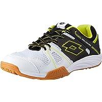 Lotto Men's Jumper 400 Squash Tennis Shoes, White