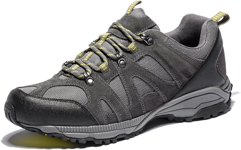 WELLBAN Men's Hiking Shoes Waterproof Outdoor Sneaker
