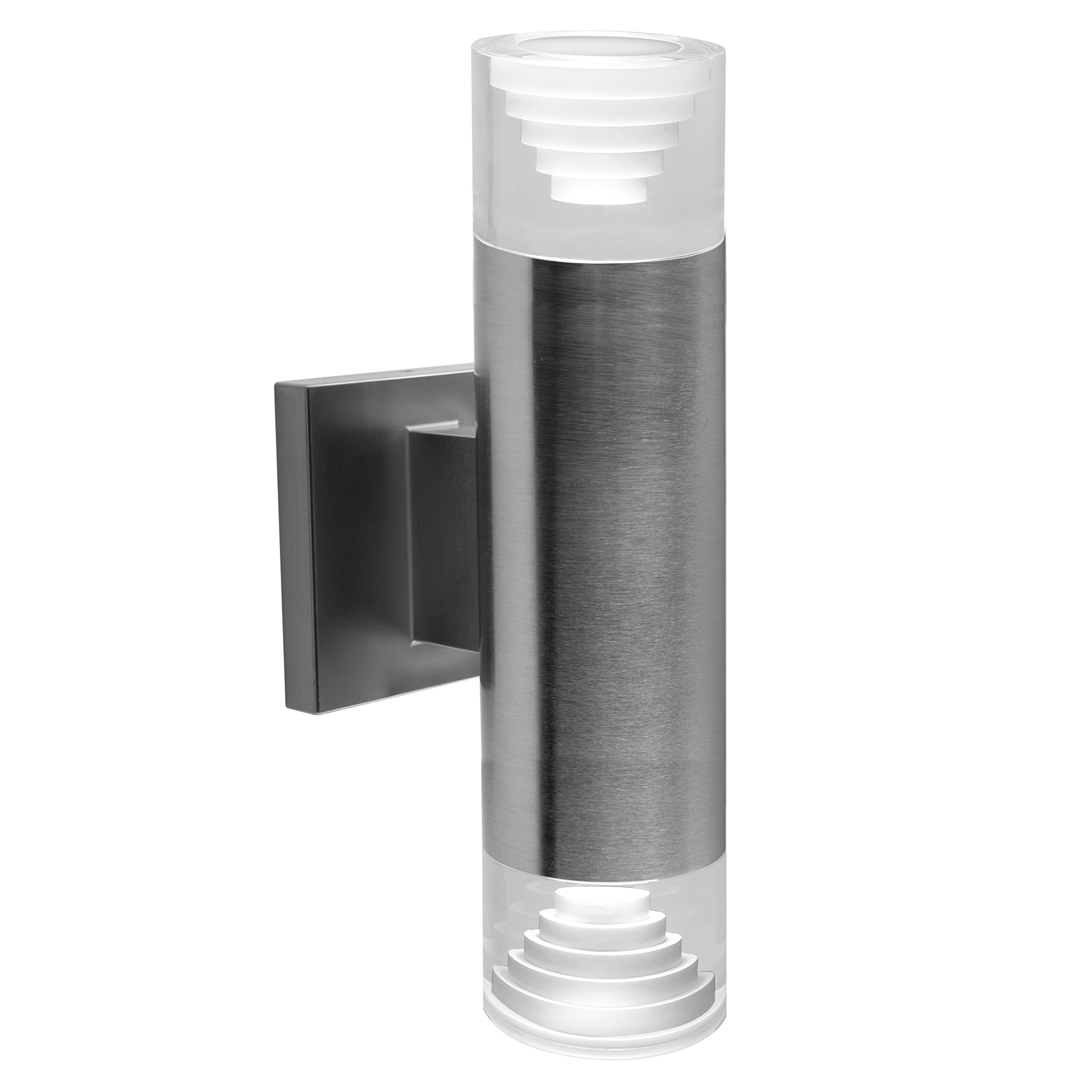 Bazz W16640SS LED Outdoor Wall Fixture, Stainless Steel
