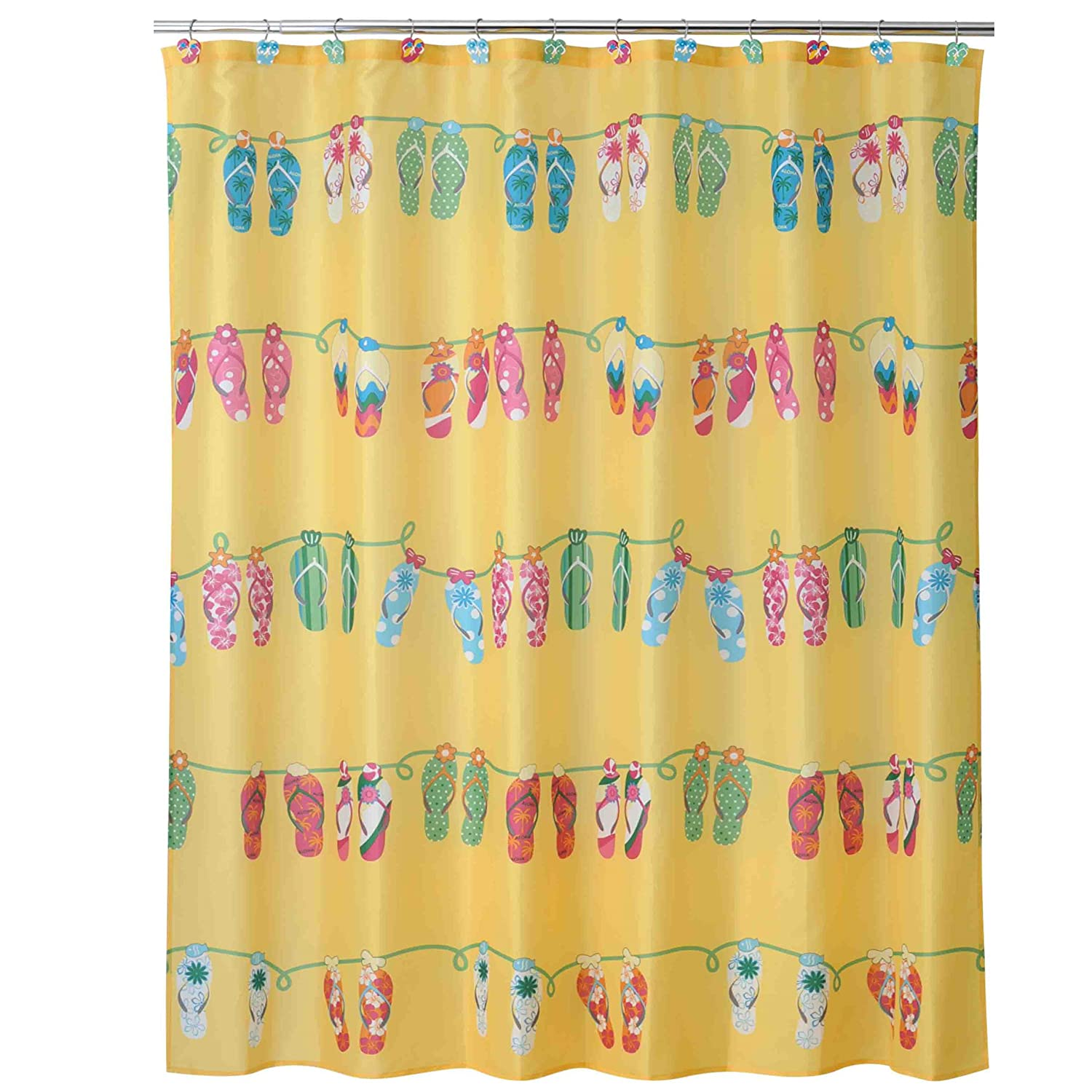 Charming Amazon.com: Allure Home Creations Sun And Sand Shower Curtain: Home U0026  Kitchen