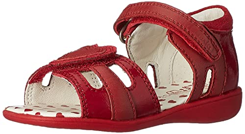 a1b7890798b Clarks Girl s Red First Fashion Sandals - 4 Kids UK India (20 ...