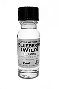 The Flavor Apprentice Professional Food Flavorings (15 ml/ 0.5 oz) Blueberry (Wild)