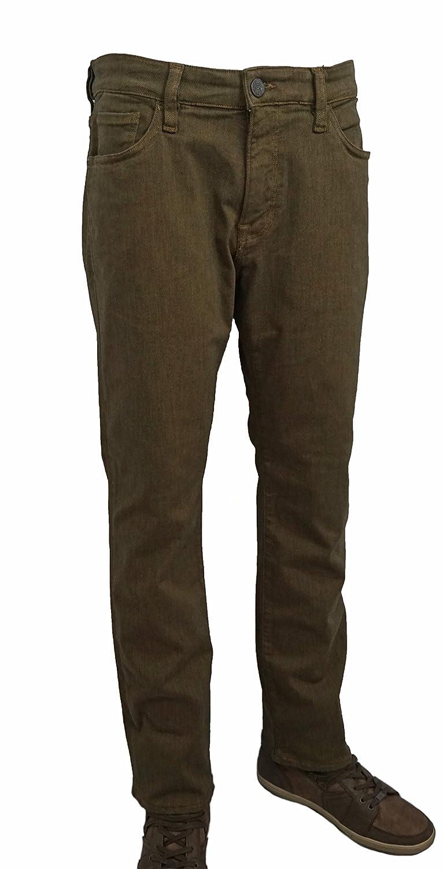 Rust Diagonal 34 Heritage Jeans Courage