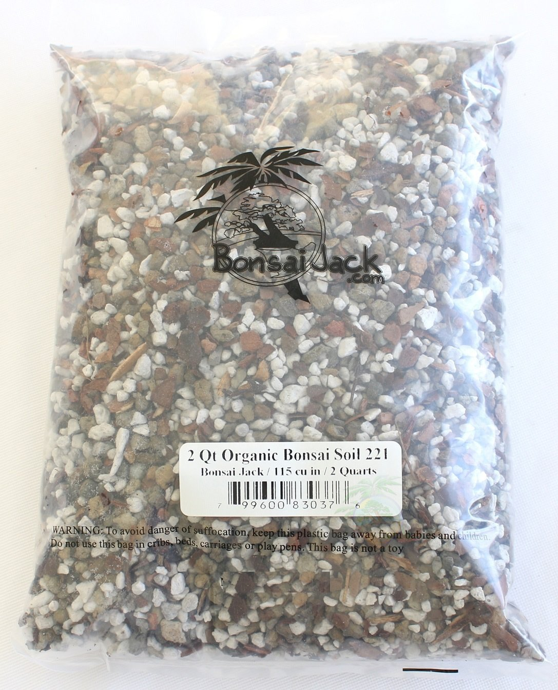 Bonsai Jack Universal Organic Bonsai Soil Mix #221 2 Quart
