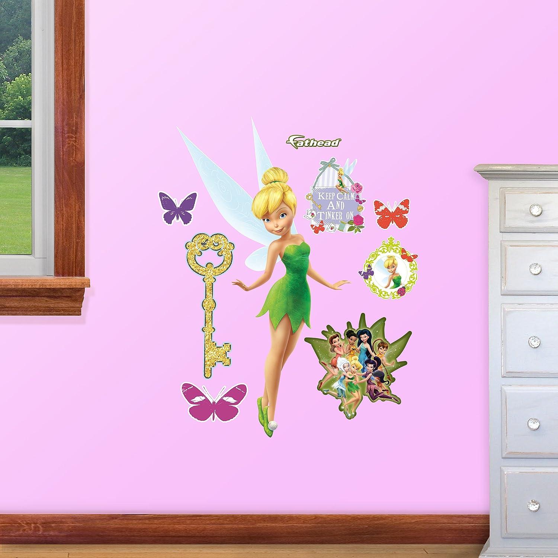 Fathead 15-16786 Wall Decal, Disney Tinker Bell Junior
