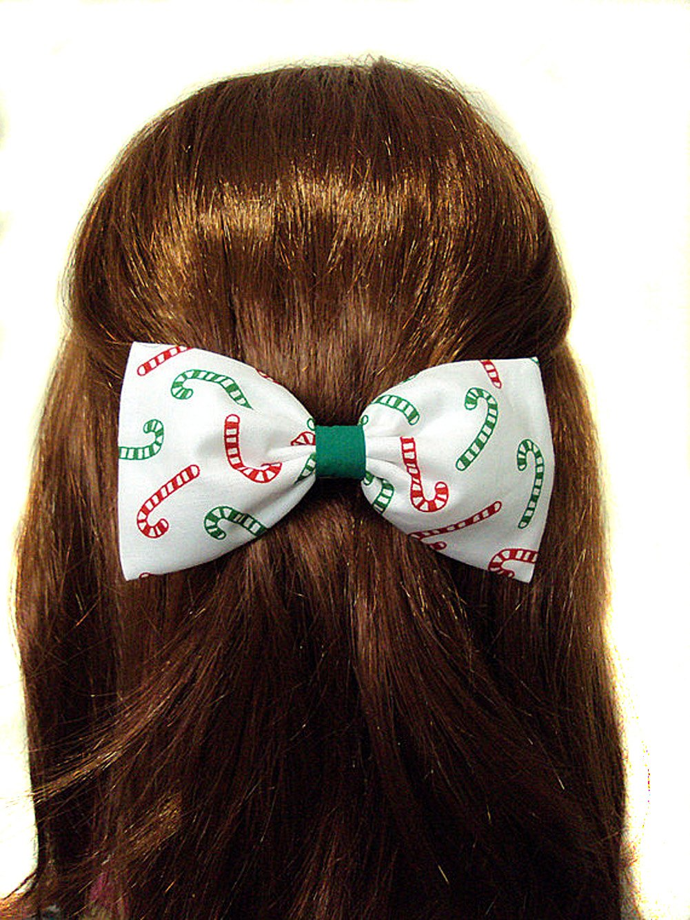 "NEW /""SHIMMER Red/"" Cheer Bow Pony Tail 3 Inch Ribbon Girls Hair Bows Cheerleading"