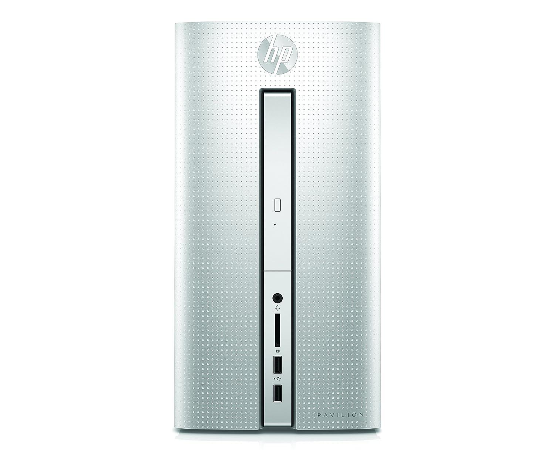 HP Pavilion 570-p052ns - Ordenador de sobremesa (Intel Core i5-7400, 8 GB RAM, 1 TB HDD, NVIDIA GeForce GTX 950 2 GB, sin S.O.); Plata: Amazon.es: ...