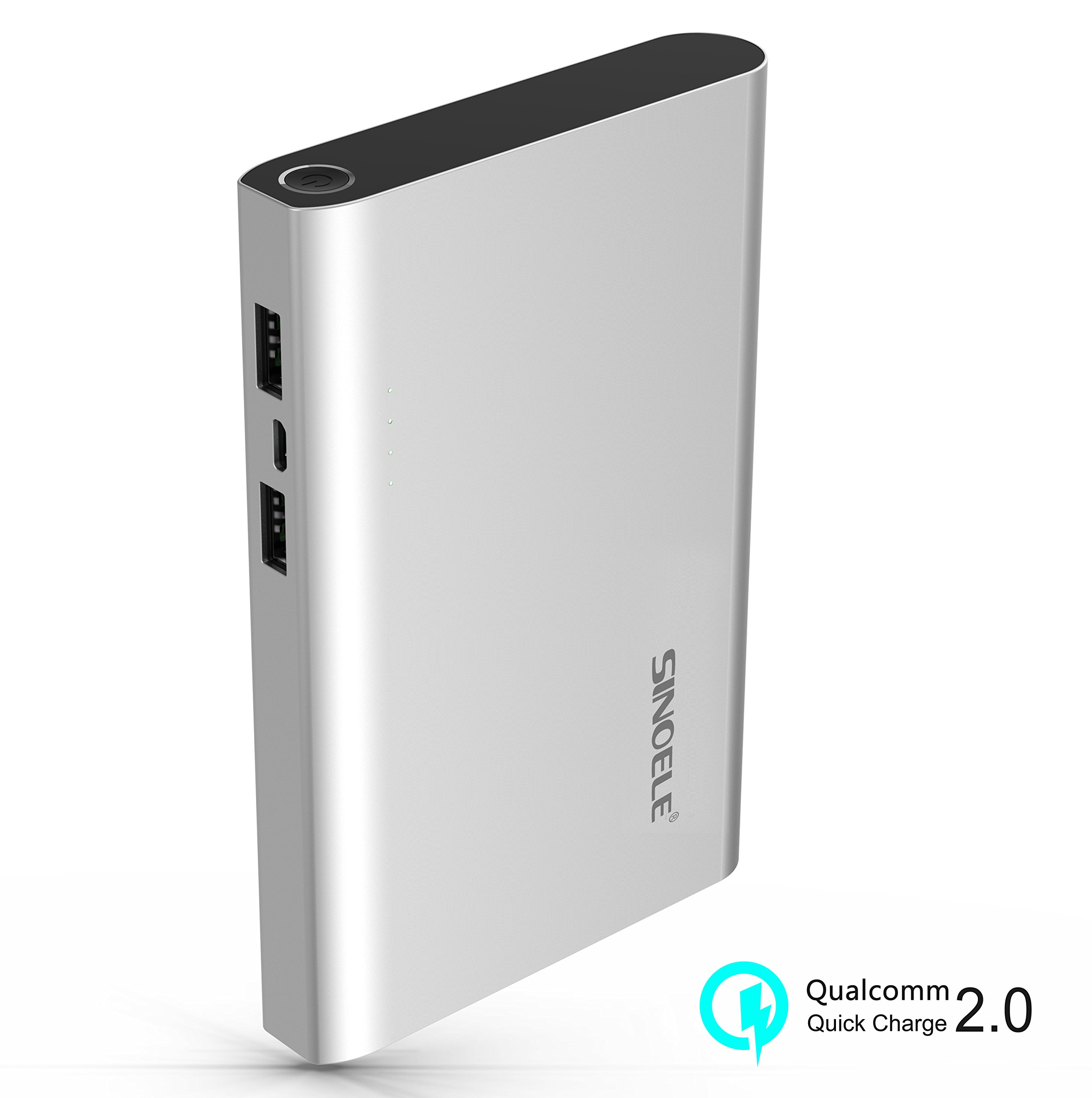 SINOELE Power Bank 30000mAh High Capacity Cell Phone External Battery Pack Fast Charging Universal for iPhone,iPad,Samsung,Huawei and More