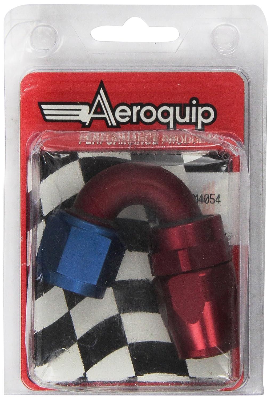 10AN 150-Degree Elbow Fitting Aeroquip FCM4054 Aluminum