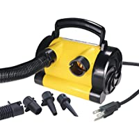 Kwik Tek Air Pump Canister (120-Volt), Yellow Color