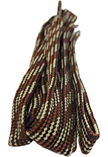 0878dab836e Boot Laces - Round Strong Hiking  Walking Boot Laces - 120cm to 200cm Tobby