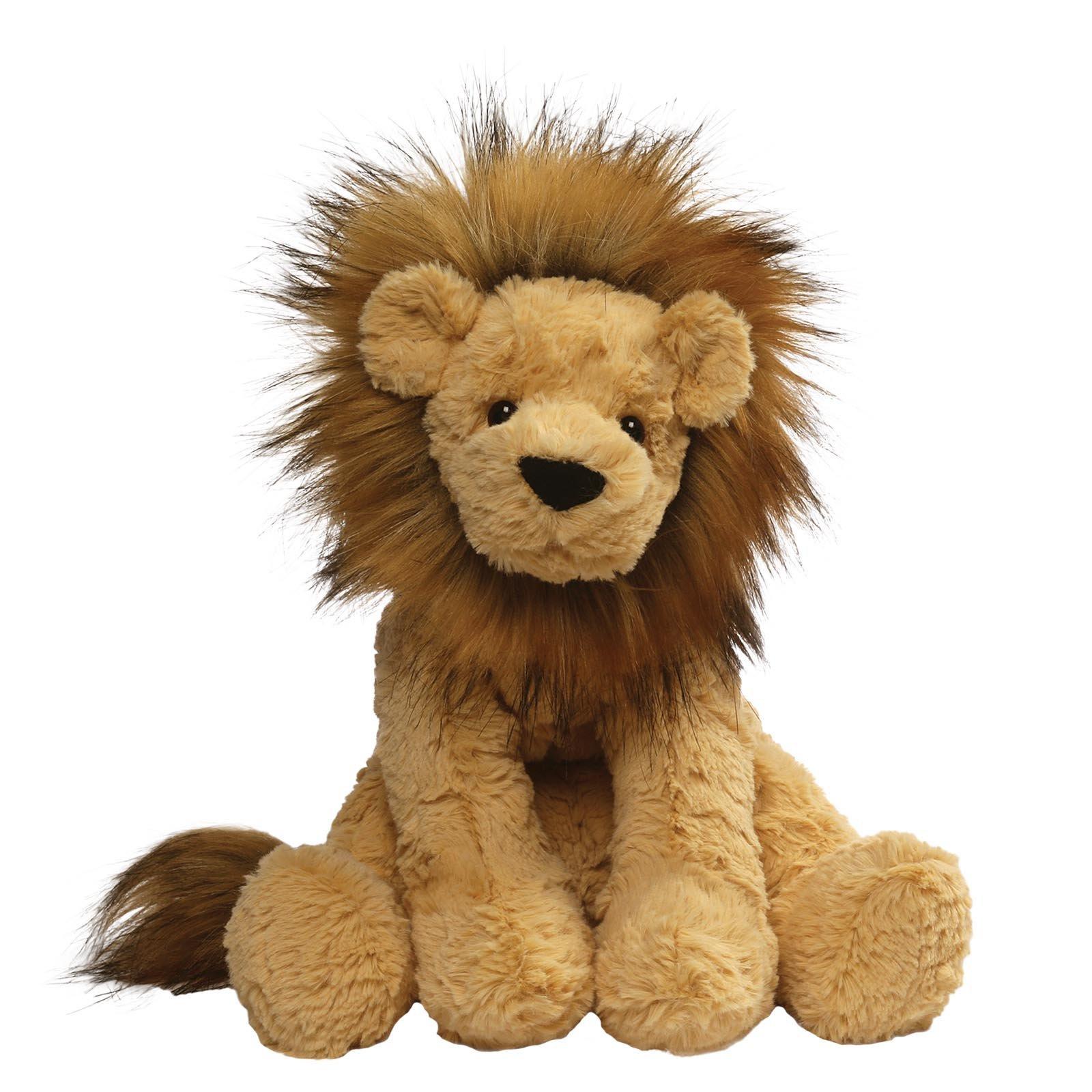 GUND Cozys Collection Lion Stuffed Animal Plush, Tan, 10'' by GUND