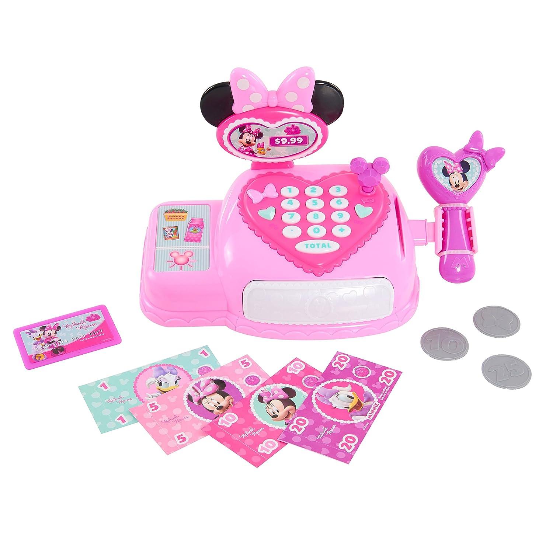 Minnie Cash Register PreSchool Happy Helpers Bowtique Pink Just Play Minnie PreSchool Cash Register