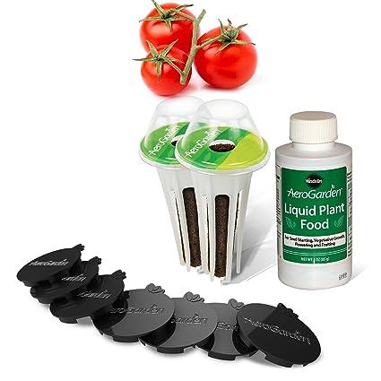 Amazon.com: Miracle-Gro AeroGarden Mega Tomate Cherry Seed ...