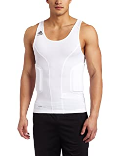 adidas Mens Techfit Padded Compression Tank