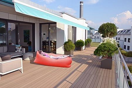 Sesaisi Aufblasbares Sofa Strand Matratze Luftbett Stuhl Kissen
