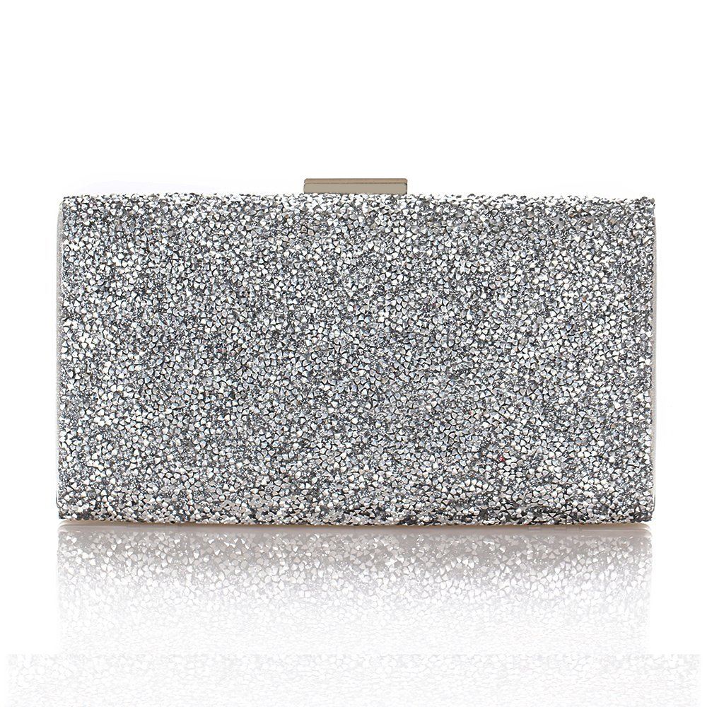 Gold Clutch Rhinestone...