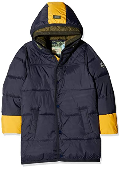 865cf7e598860 Scotch   Soda Shrunk Boy s Quilted Jacket with Contrast Colour Pop Details  in Longer Le,