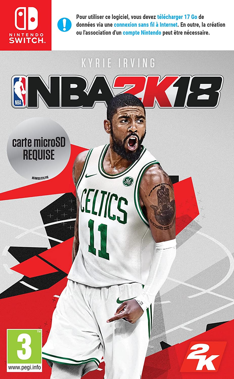 NBA 2K18 - Nintendo Switch [Importación francesa]: Amazon.es ...