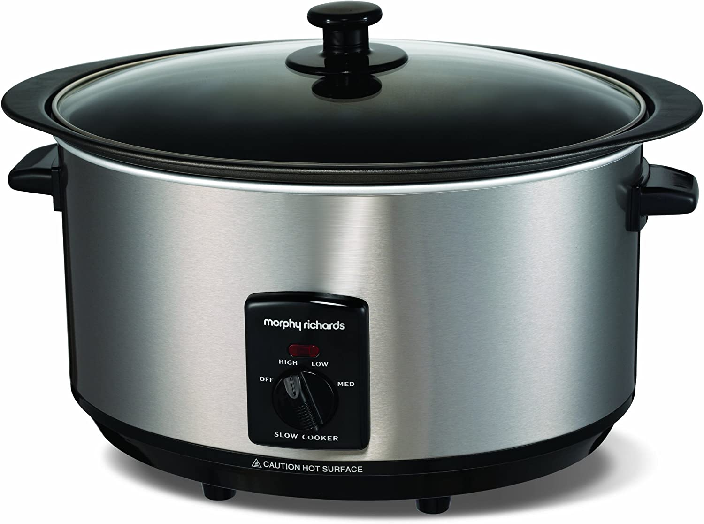 Morphy Richards 48705 Sear /& Stew Slow Cooker 6,5 Liter