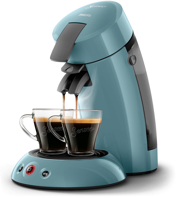 Cafetera Independiente, M/áquina de caf/é en c/ápsulas, 0,7 L, Dosis de caf/é, 1450 W Senseo Original HD6553//20