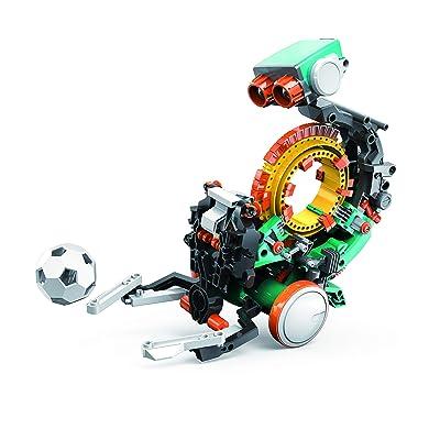 "Elenco Teach Tech ""Mech-5"", Programmable Mechanical Robot Coding Kit, STEM Building Toy for Kids 10+: Toys & Games"