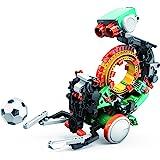 Elenco Teach Tech Mech-5 | Programmable Mechanical Robot Coding Kit | STEM Educational Toys for Kids 10+