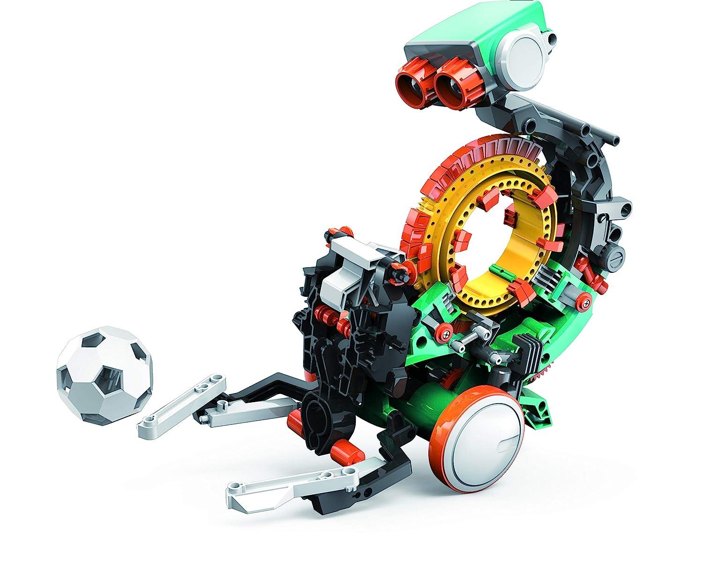 "Elenco Teach Tech ""Mech-5"", Programmable Mechanical Robot Coding Kit, STEM Building Toy for Kids 10+"