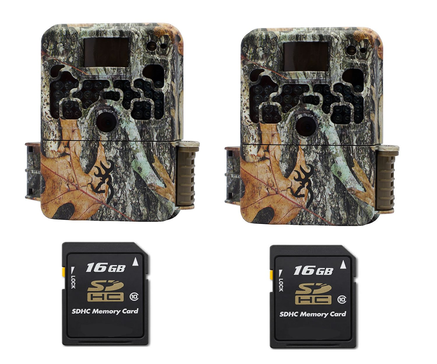 Browning STRIKE FORCE ELITE BTC5HDE Trail Game Camera (10MP) 2 Cameras With 2 16GB Memory Card by Browning Trail Cameras (Image #1)