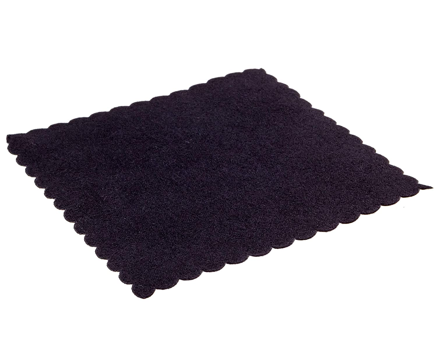 Gold Label Detailing Microfiber Suede Cloth for Ceramic Coating Application 4 x 4 Ultra Soft Edgeless Cloth for Use with A Foam Applicator