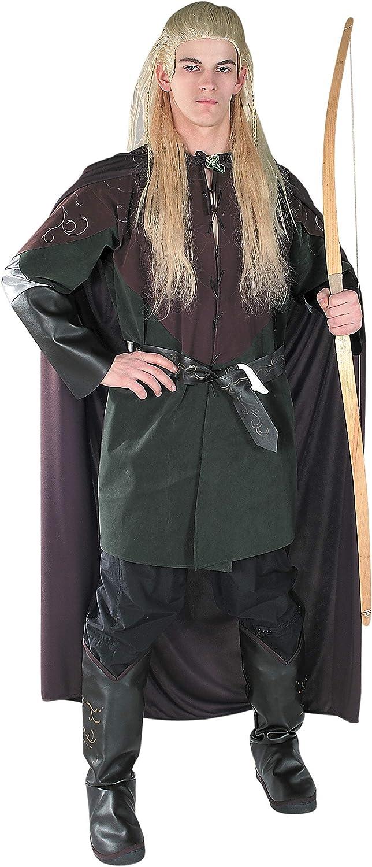 Rubie's - Disfraz de Legolas de El señor de los anillos para adulto, talla M (40-42)