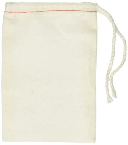 Amazon.com: Cotton Drawstring Muslin Bags, 3