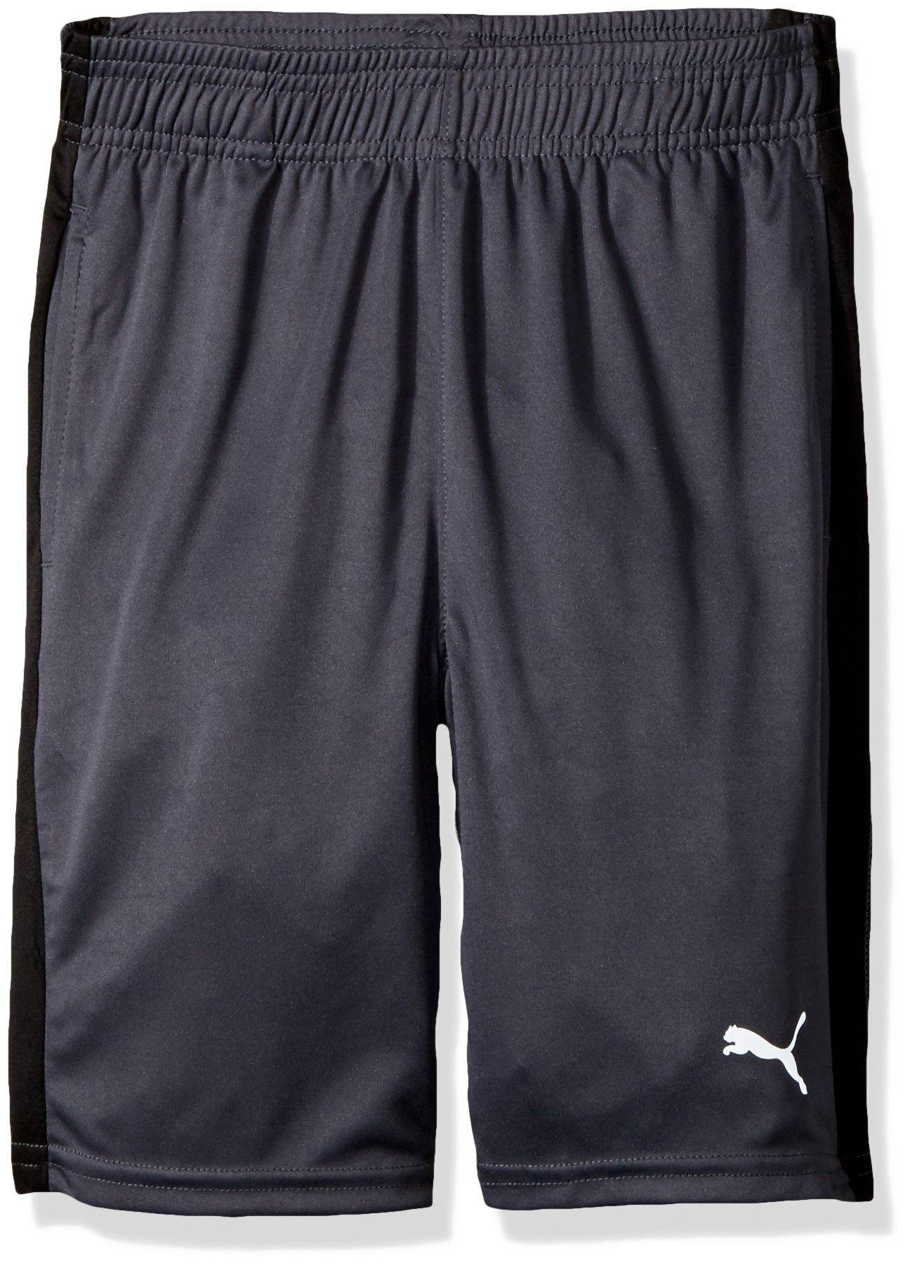 PUMA Big Boy's Puma Boys' Form Stripe Short Shorts, coal, Extra Large by PUMA