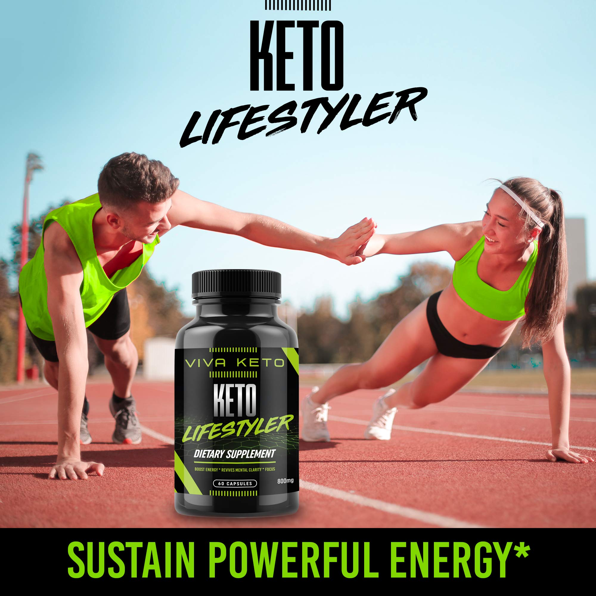 Keto Diet Pills Appetite Suppressant Supplement - Exogenous Ketones Ketogenic Diet Pills - Boosts Metabolism and Supplies Energy- 60 Capsules by Keto Lifestyler (Image #4)