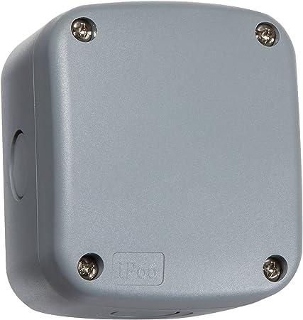 Knightsbridge jbav007 Pequeño IP66 Impermeable Caja de derivación: Amazon.es: Bricolaje y herramientas
