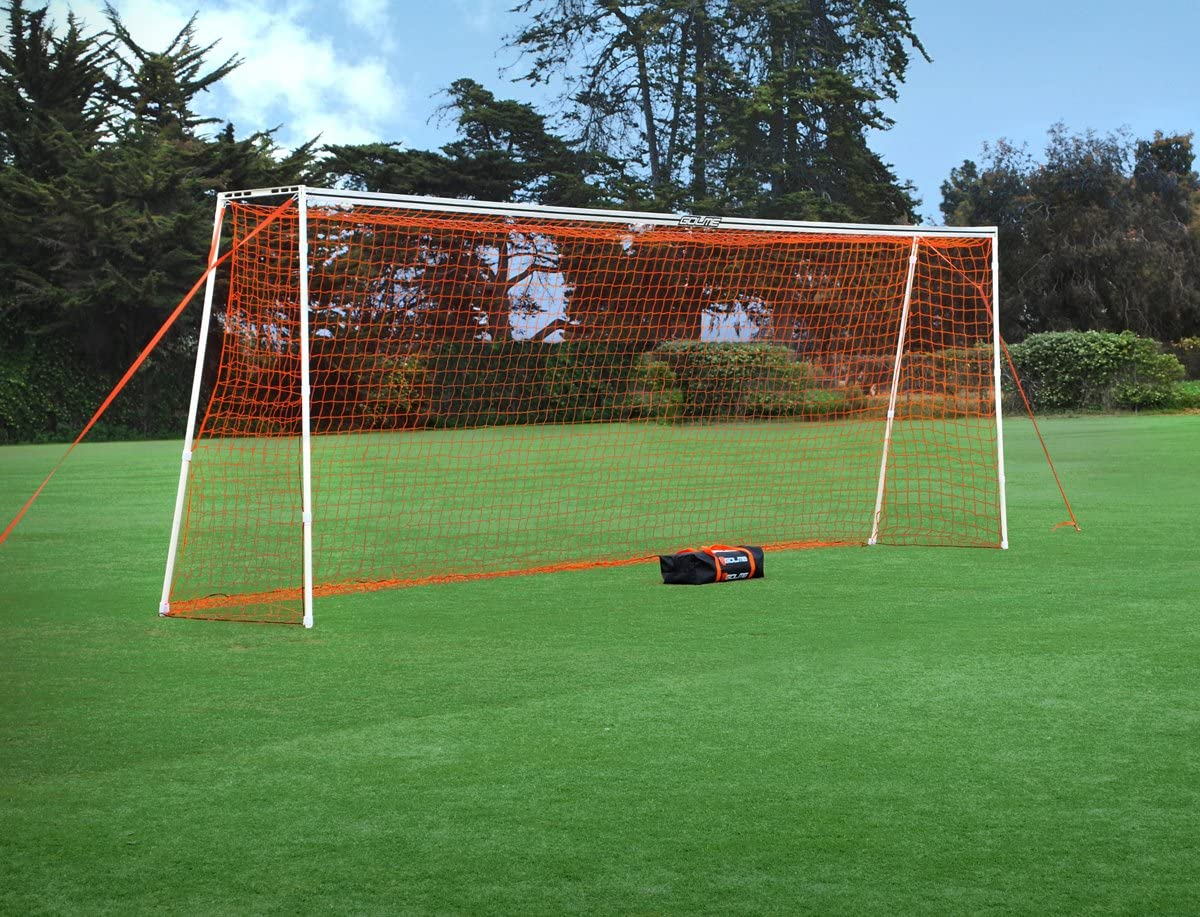 GOLME PRO Training Soccer Goal - Full Size Ultra Portable Soccer Net : Sports & Outdoors