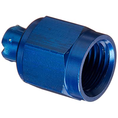Aeroquip FCM3752 Blue Anodized Aluminum -4AN Tube Cap Fittings - Pack of 2: Automotive