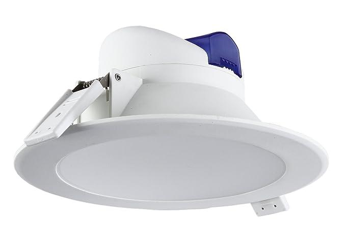 Tevea illuminazione da incasso bianco neutro 11.3 x 11.3 x 6.0 cm