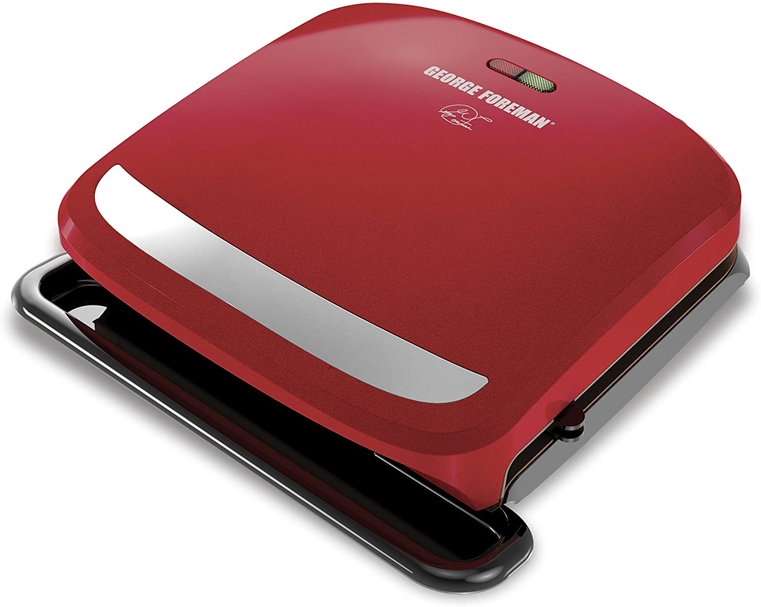 George Foreman 4-Serving Removable Plate Grill review