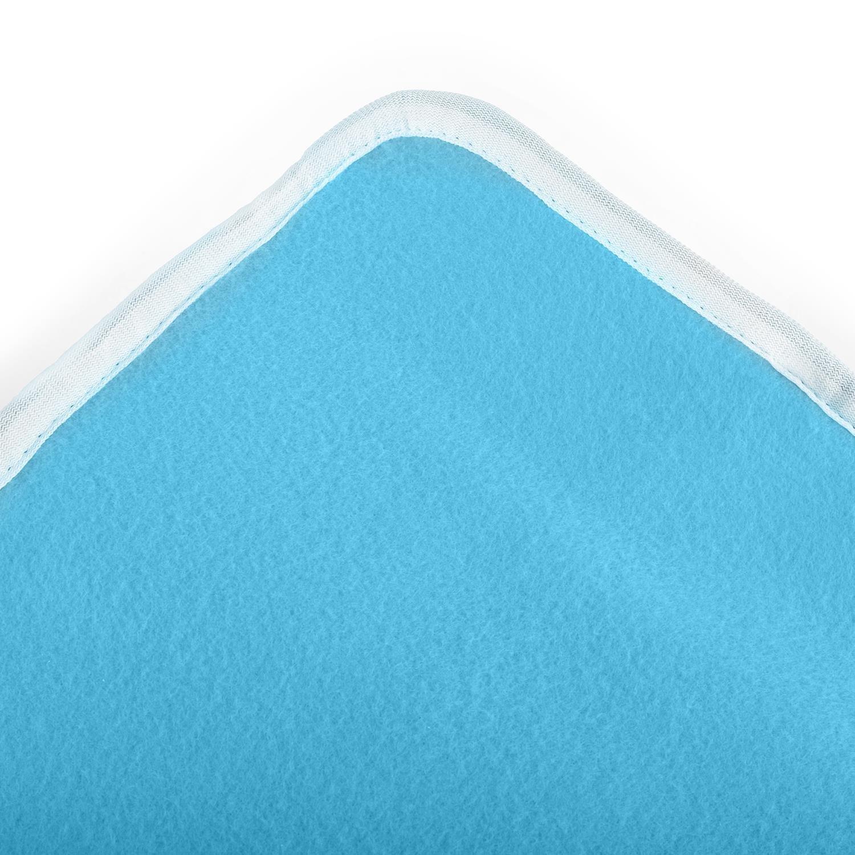 Klarstein Winterdreams Manta Eléctrica (60w de potencia, 150x80 cm, forro polar, apta para lavadoras) - Azul: Amazon.es: Electronic-Star-ES