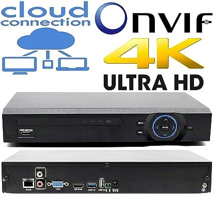 Amazon com : USG Business Grade Ultra 4K Security IP Network NVR: 24