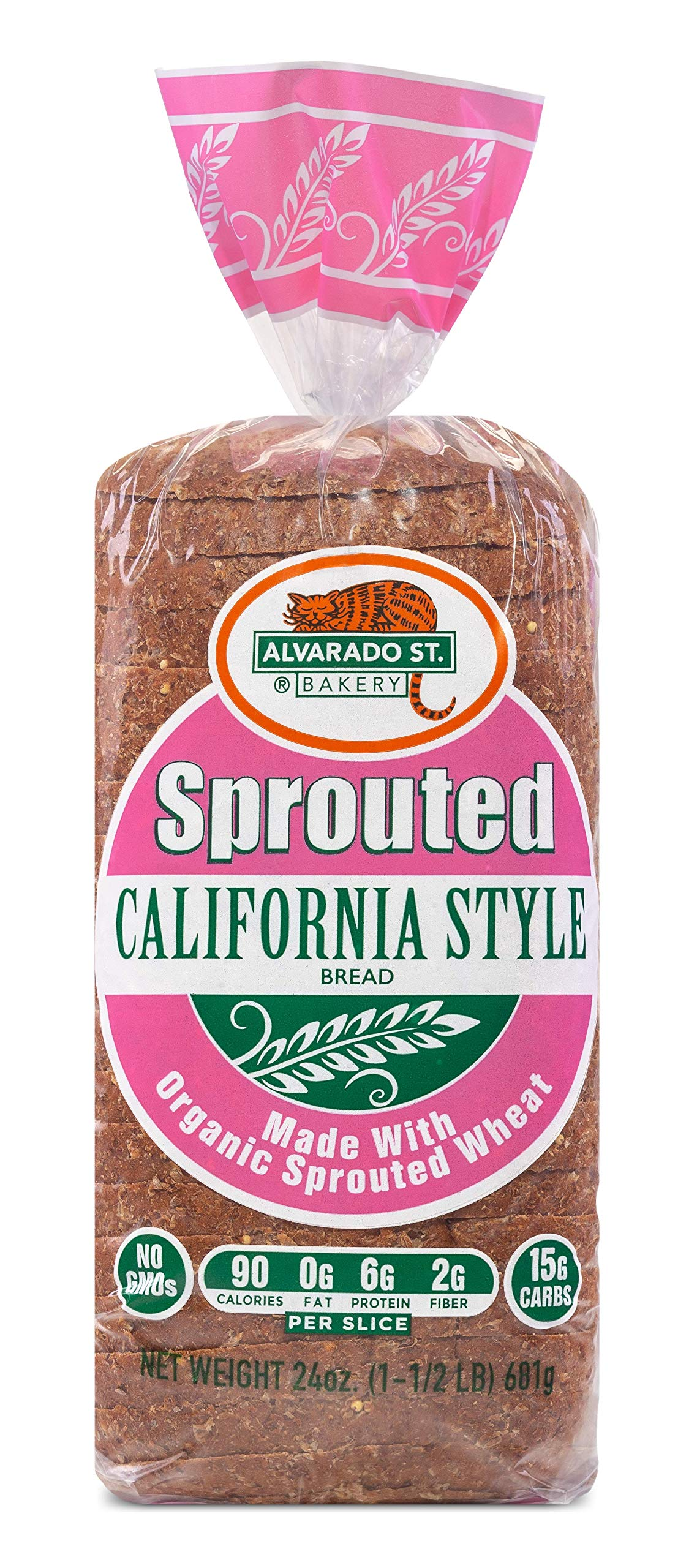 Alvarado Street Bakery Organic California Style Complete Protein Bread, 24 Ounce -- 6 per case.