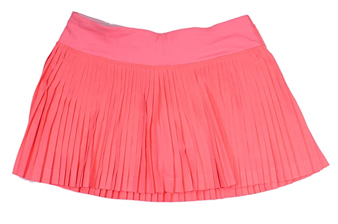 8c59934810 Amazon.com: Lululemon Grapefruit Medium Rise Pleat to the Street Tennis  Skirt II: Clothing