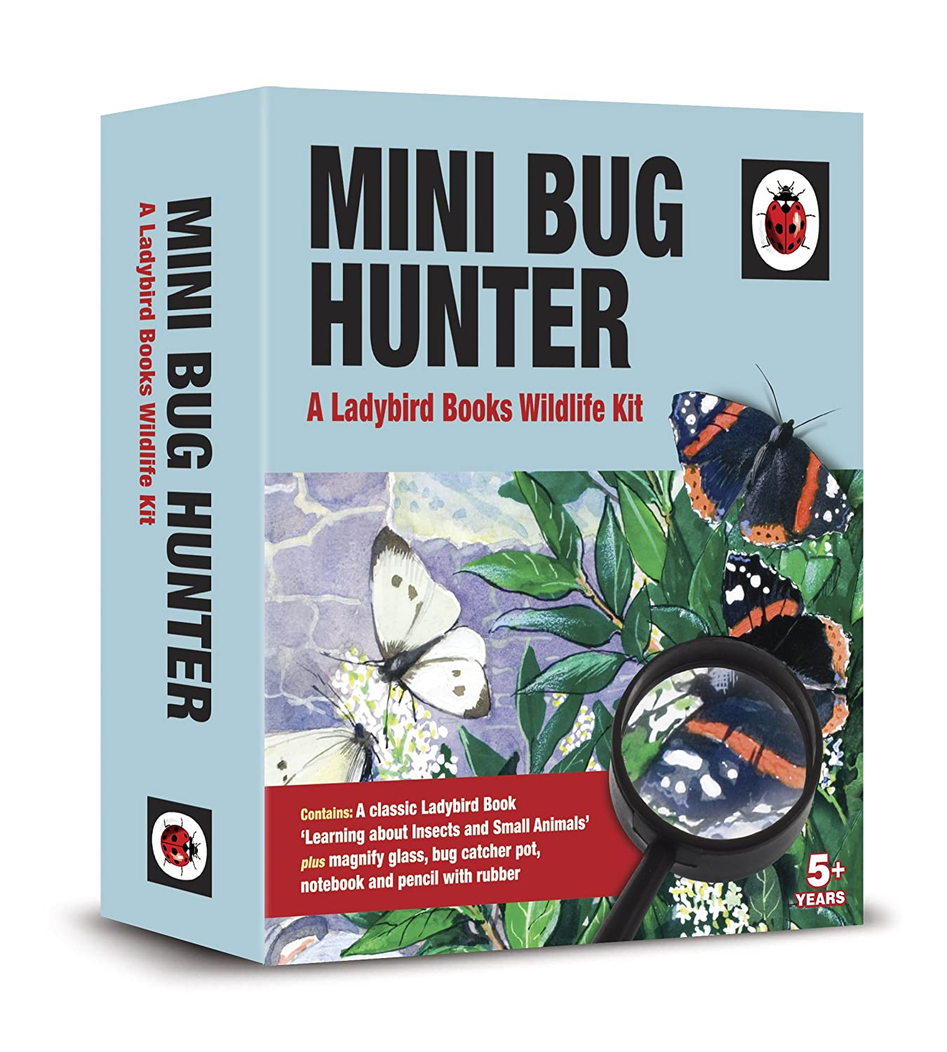 Ladybird Mini Bug Hunter Classic Butterflies Moths Other Insects Book Gift Set Demand Media