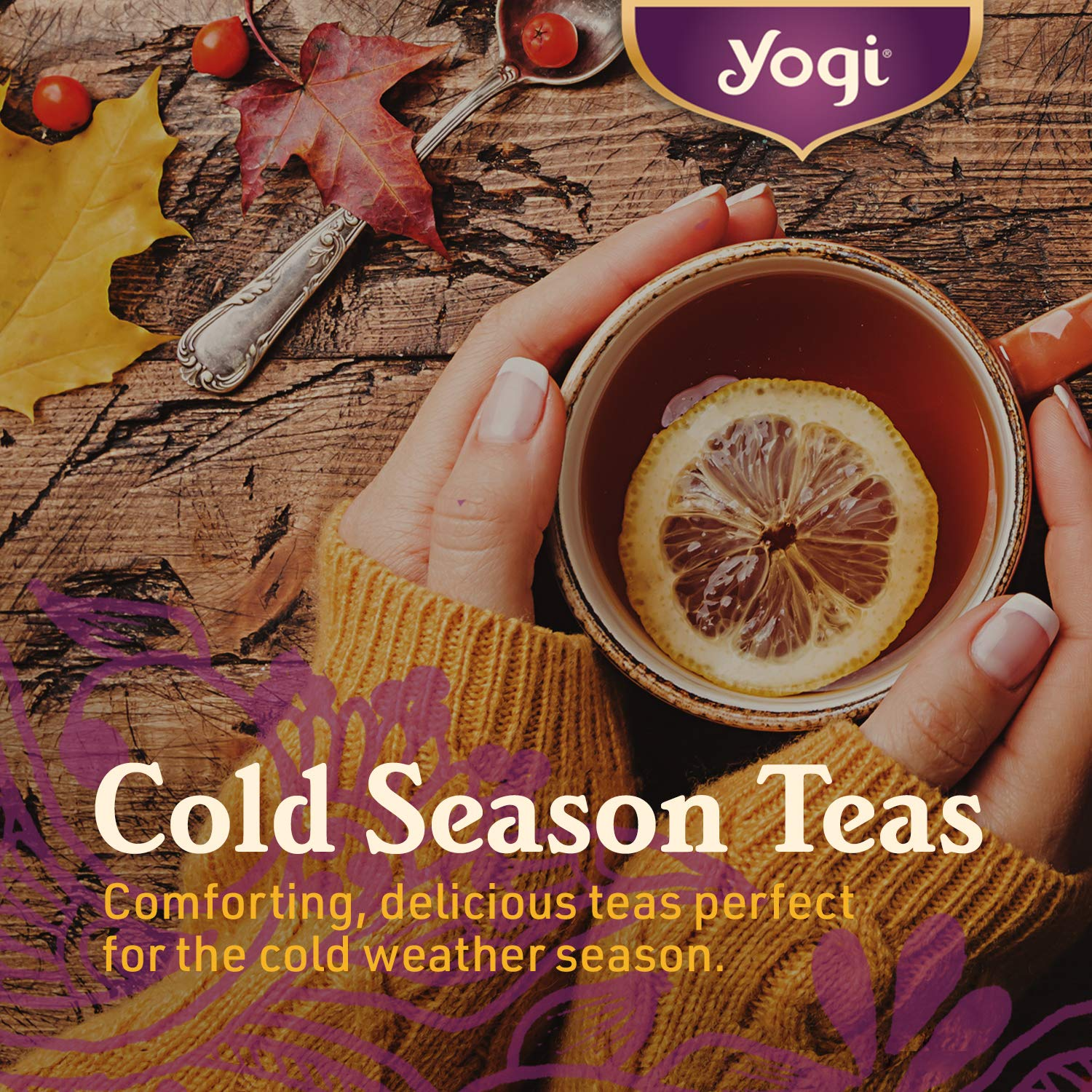 Supports the Body During the Cold Weather Season - 6 Pack, 96 Tea Bags Total