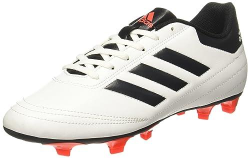 brand new 957c3 d6647 Adidas Mens Goletto Vi Fg FtwwhtSolredCblack Football Boots - 11 UK