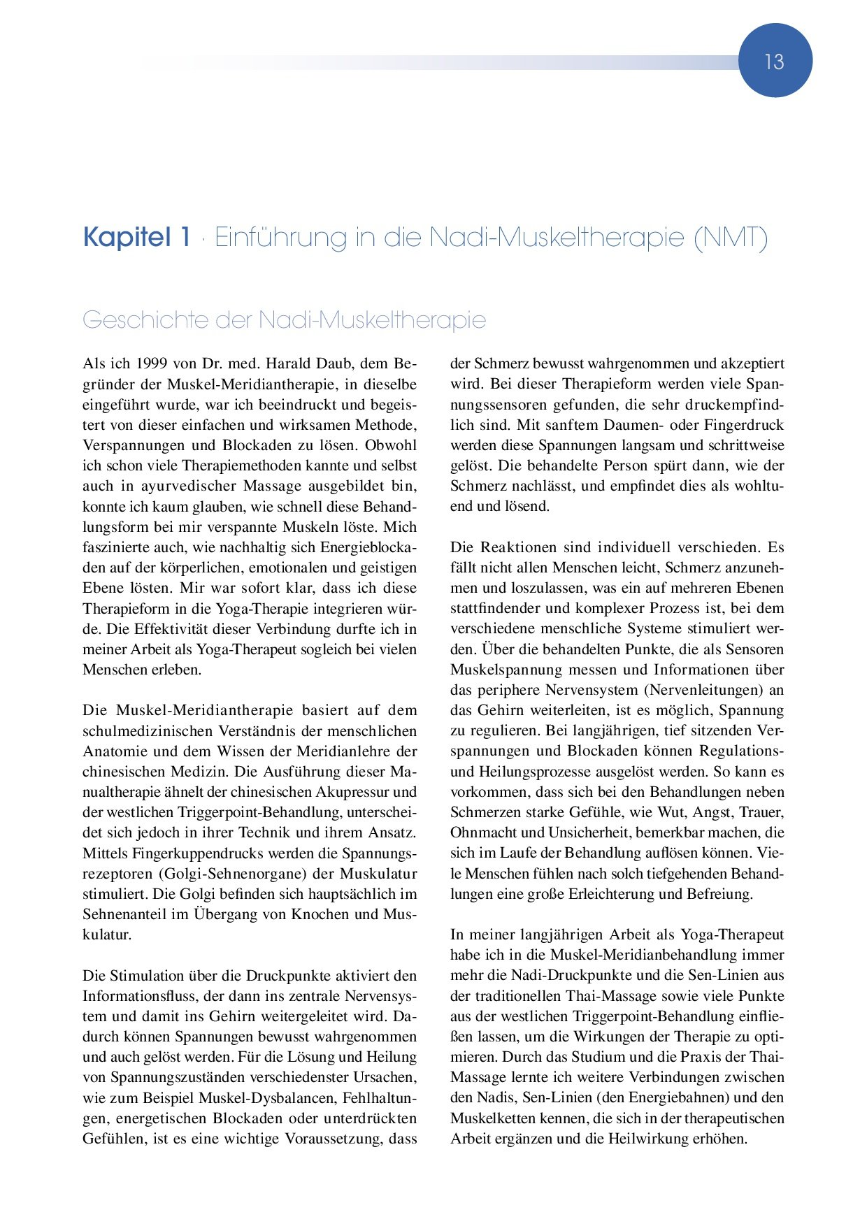 Heilmethode Nadi-Muskeltherapie: Verspannungen, Schmerzen und ...