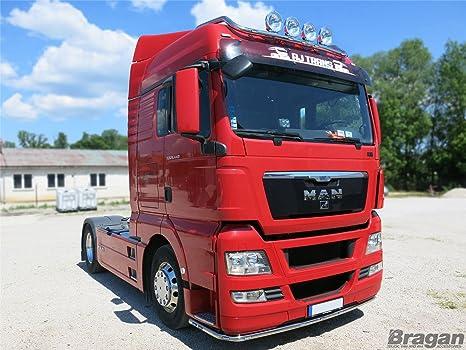 Bragan camión específica alta calidad mano pulido acero inoxidable bajo luz parachoques Bar + 6 x