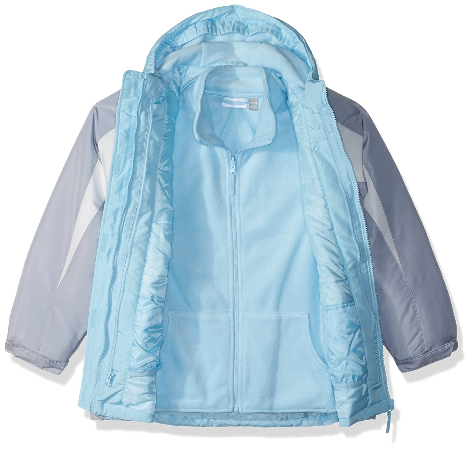 The Childrens Place Big Girls Solid 3-in-1 Jacket